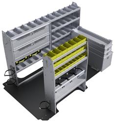 "60-NV12-H1 HVAC Package for Nissan NV 146"" Wheelbase High Roof"
