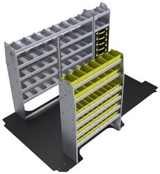 """60-NV12-P1 Plumber Package for Nissan NV 146"""" Wheelbase High Roof"""