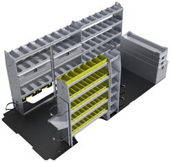 "60-RP42-H1 HVAC Package for Ram Promaster 159"" Extended Wheelbase High Roof"