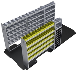 "60-RP42-P1 Plumber Package for Ram Promaster 159"" Extended Wheelbase High Roof"