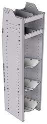 """33-L563-3 Profiled Back Refrigerant Shelf Unit 15.45""""Wide x 15.5""""Deep x 63""""High for 3 large bottles"""