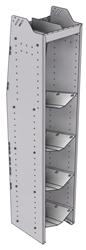 """33-L572-4 Profiled Back Refrigerant Shelf Unit 15.45""""Wide x 15.5""""Deep x 72""""High for 4 large bottles"""