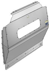 10-FT02-123 Window Contoured Partition for Ford Transit Medium Roof