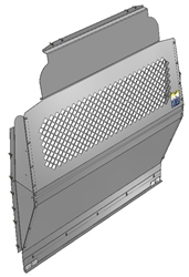 10-FT03-122 Mesh Contoured Partition for Ford Transit High Roof