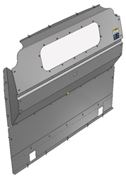 10-RP00-123 Window Contoured Partition for Ram Promaster