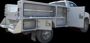 Photo pour la catégorie Boîte de service pour camion