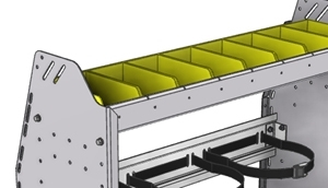 Picture for category Refrigerant bin shelf units
