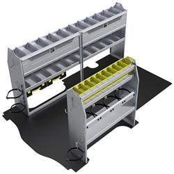 "60-GM11-H1 HVAC Package for GMC Savana / Chev Express 135"" Wheelbase Standard Roof"