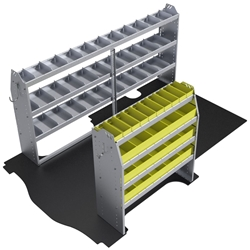 "60-GM11-P1 Plumber Package for GMC Savana / Chev Express 135"" Wheelbase Standard Roof"
