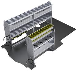 "60-GM21-H1 HVAC Package for GMC Savana / Chev Express 135"" Extended Wheelbase Standard Roof"