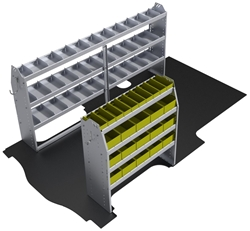 "60-GM21-P1 Plumber Package for GMC Savana / Chev Express 135"" Extended Wheelbase Standard Roof"