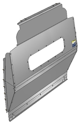 10-FT03-123 Window Contoured Partition for Ford Transit High Roof